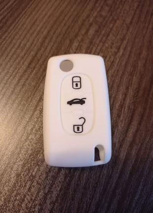 Чехол для ключа Citroen Peugeot