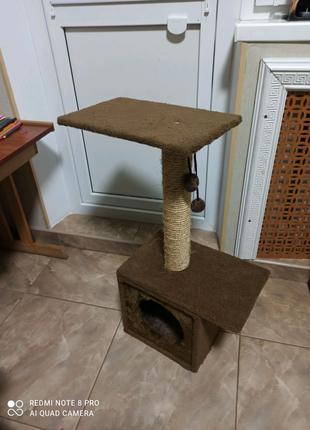 Дряпка-домик для кошек