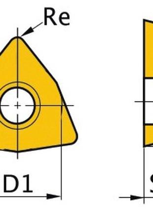 Твердосплавные быстросменные пластины ( НАПАЙКИ ) победитовые