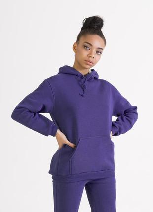 Фиолетовый худи | толстовка фиолетового цвета бренда colo