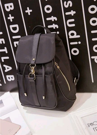 Жіноча сумка - рюкзак HiFlash Чорна ✔