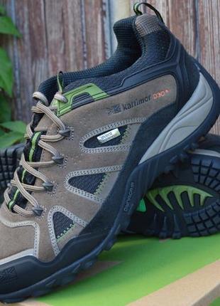 Ботинки мужские karrimor, замша, водонепроницаемые