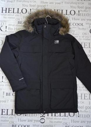 Куртка зимняя мужская karrimor, парка, ветро и водонепроницаемая