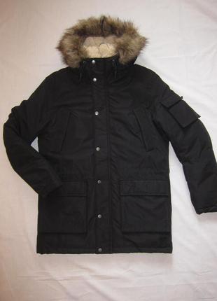 Куртка мужская зимняя, парка jack and jones, водонепроницаемая