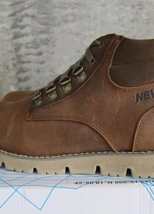 Ботинки зимние мужские nevica, кожаные, оригинал, из англии