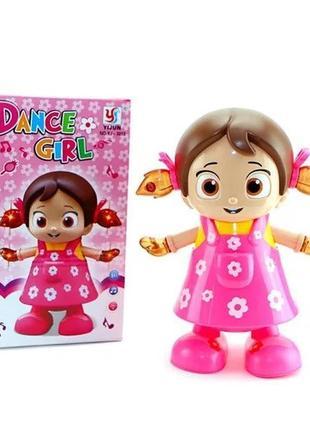 Танцующая музыкальная девочка-робот YJ-3013