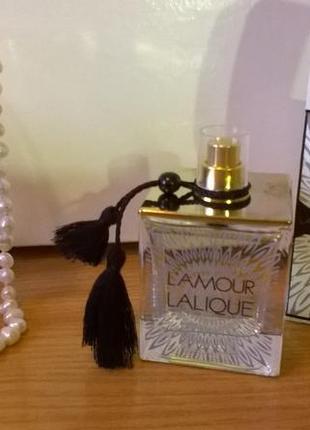Lalique l'amour парфюмированная вода 100 мл оригинал тестер бе...