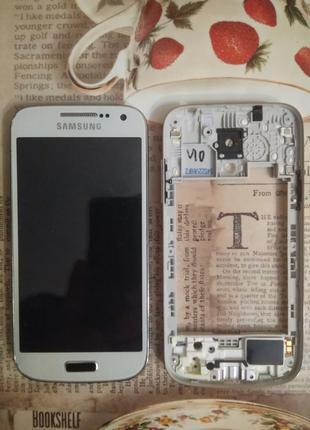 Дисплейный модуль на Samsung I9195 Galaxy S4 Mini