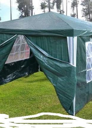 Павильон садовой павільйон cfljdbq палатка шатер намет 3х3 м 4-ст