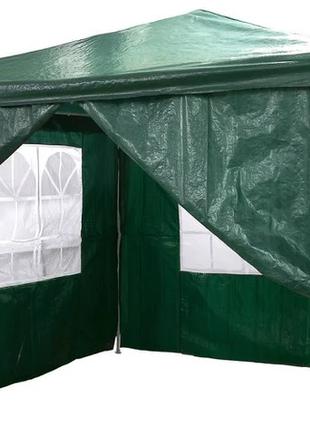 Павильон садовой павільйон садовий шатер палатка 3*3 4-стенки пол