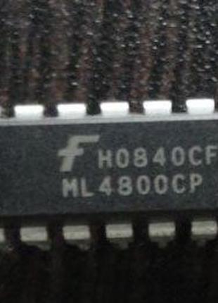 ML4800CP ML4800 4800CP DIP-16 микросхема