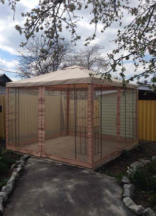 ПОШИВ ТЕНТА для шатра, павильона или палатки