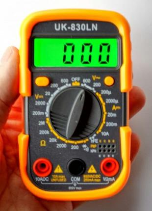 Мультиметр DT830LN