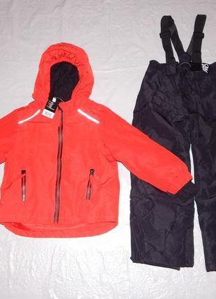 Р. 110-116, лыжный костюм термо мембранный 3к crivit, германия