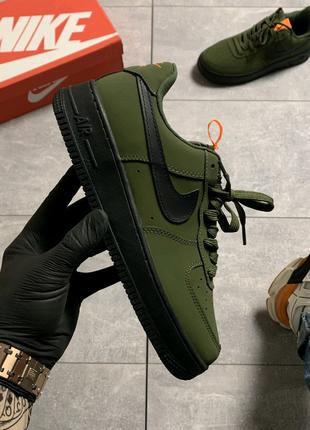 🔥Nike Air Force Low Black Green .