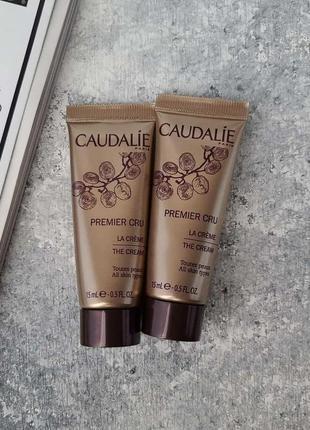 Крем для лица глобальная защита caudalie premier cru cream