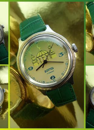 «ВОСТОК_МЕЧЕТЬ» сделано в СССР 80-х. часы мужские механические