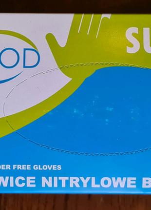 Перчатки нитриловые Supreme S