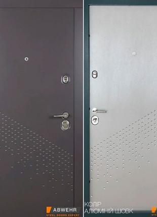 Входные двери стальные.Зашитый торец.Замки Kale