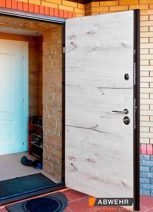 Входная дверь с ТЕРМОРАЗРЫВОМ! С устойчивой полимерной покраской