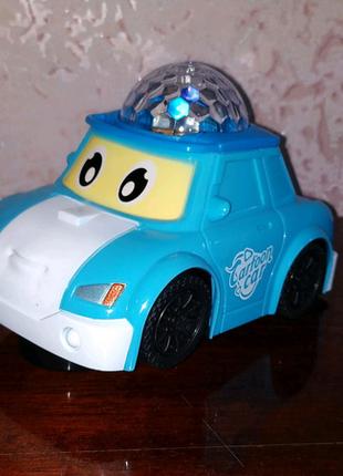 Музыкальная Машинка Робокар Поли Kronos Toys 8899-11