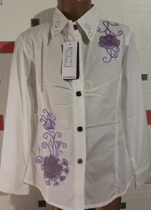 Блузка для девочки 7-9 лет
