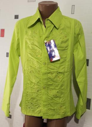 Блузка для девочки 8-12 лет
