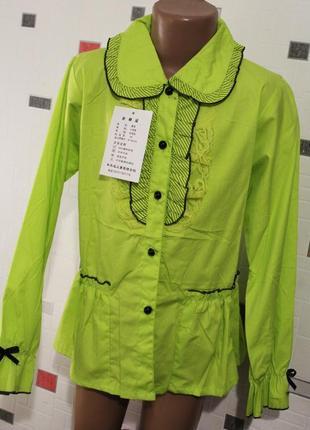 Блузка для девочки 8-11 лет