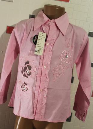 Блузка для девочки 5-7 лет