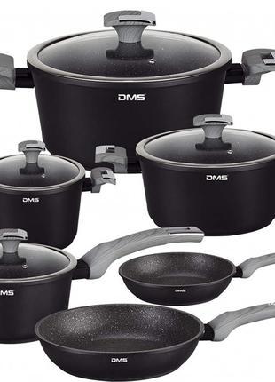 Набор кухонной посуды с тефлоновым покрытием DMS®TSM 4010BC