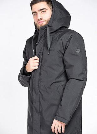 Удлиненная прямая мужская куртка!