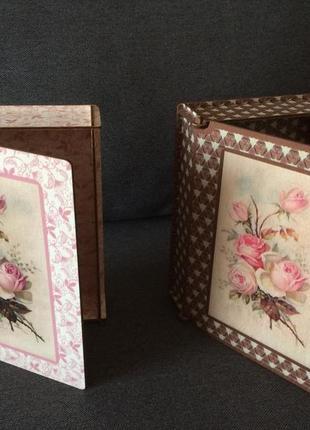 Шкатулка з фанери, скринька з дерева, подарунок, коробка для прик