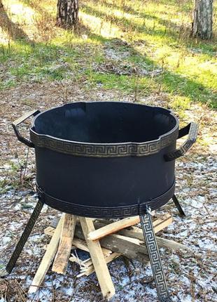 Печь-подставка походная (400 мм) под казан, жаровни ,садж