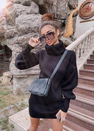 Платье свитер тренд осень 2020