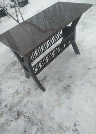 Стол столешница гранит