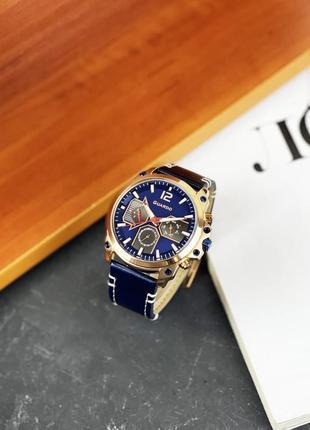 Часы guardo для настоящего мужчины blue-cuprum