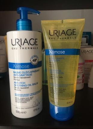 Набор для атопической кожи Uriage Xemose
