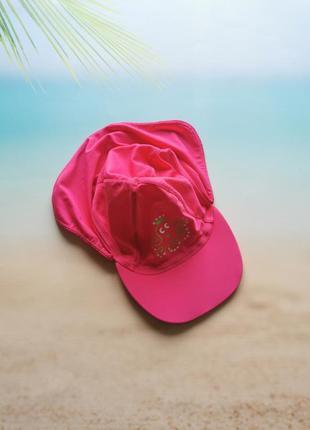Панама, кепка детская розовая для плавания