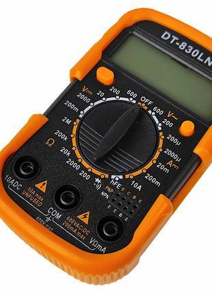 Мультиметр DT-830 LN/ART-1022 digitale цифровой универсальный