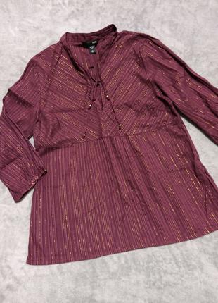 Блуза с люрексом H&M🌸