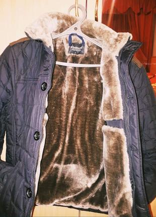 Куртка з мехом (розмір xs)