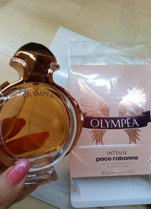 Paco rabanne olympea intense,80 мл, парфюмированная вода