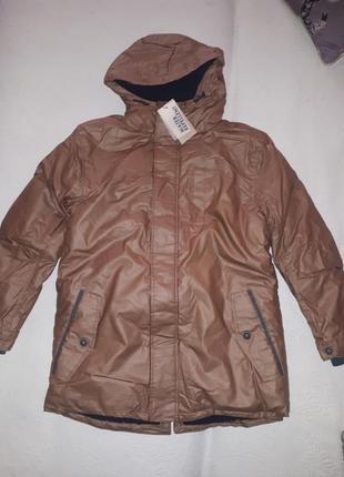 Зимняя парка куртка mango 164