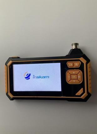Цифровой промышленный эндоскоп Inskam 113 4,3 дюйма, ЖК-дисплей