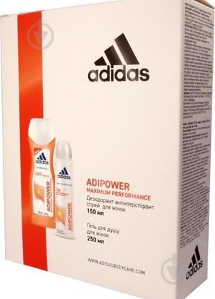 Подарочный набор для женщин Adidas 2020 Adipower...  Подробнее на