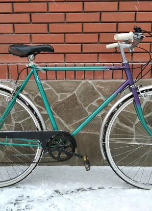 Велосипед из Германии,  SHIMANO, передачи, 28 колеса, подножка