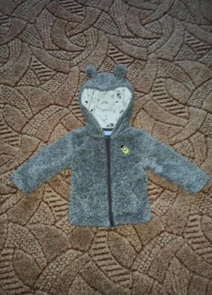 Куртка демисезонная, кофта с ушками, куртка с ушками