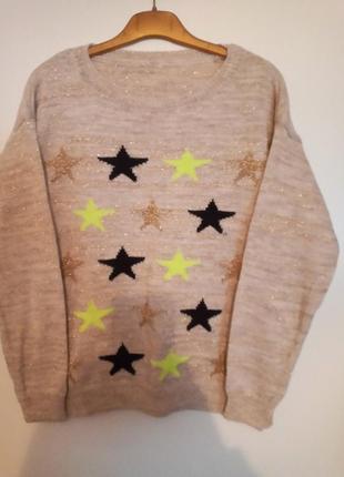 Стильный прикольный свитер