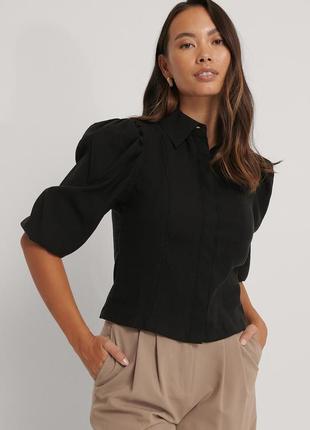 Рубашка с рукавом 3/4 na-kd, размер 36