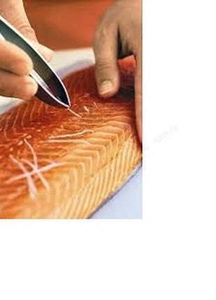 Пинцет для извлечения костей рыбы,птицы, дичи/150гр.